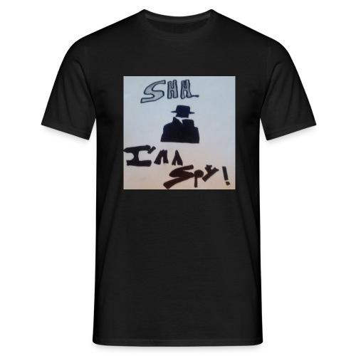 Shhhhhhh... Im a spy - Men's T-Shirt