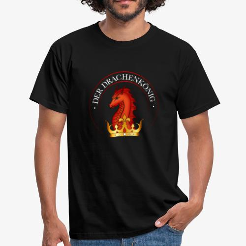 Drachenkoenig Logo - Männer T-Shirt