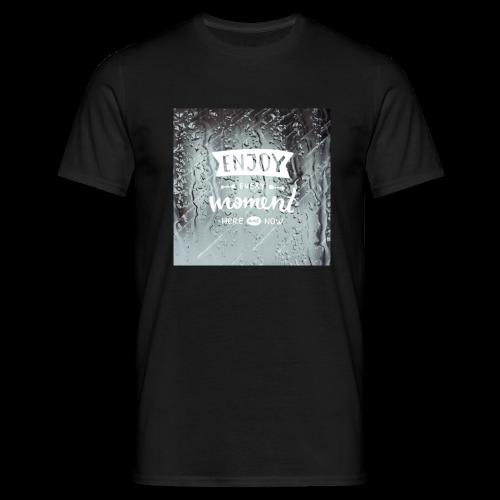 Enjoy - Männer T-Shirt