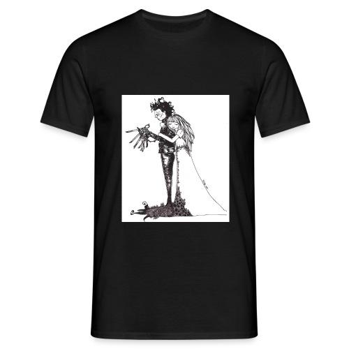 EdwardScissorhands.jpg - Men's T-Shirt