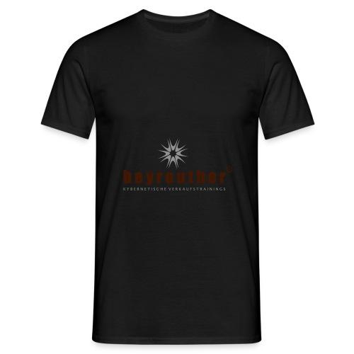 Logo beyreuther verkaufstrainer - Männer T-Shirt