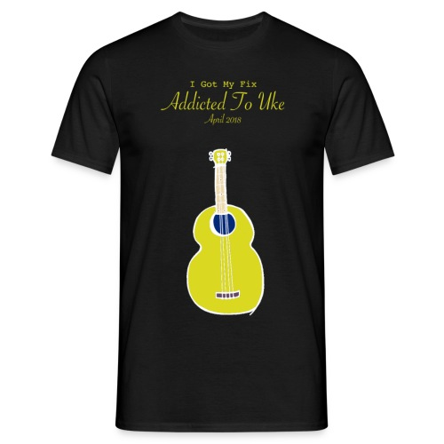 Addicted To Uke Spring 2018 Souvenir - Men's T-Shirt