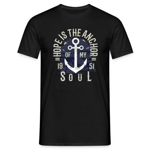 Anker Hoffnung - Männer T-Shirt