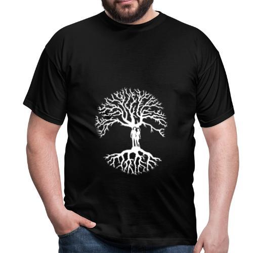 tree of life arbre de vie couple amoureux blanc - T-shirt Homme