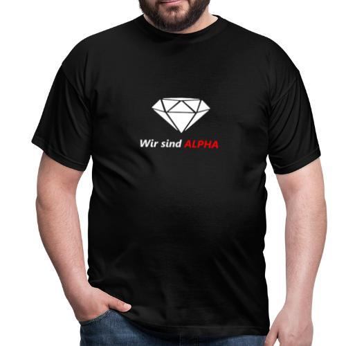 Wir sind Alpha - Männer T-Shirt
