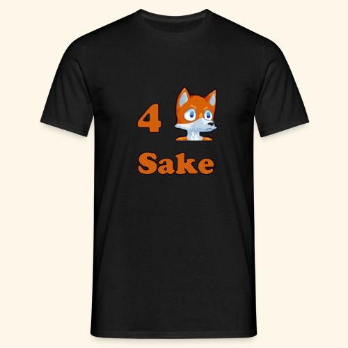 4 Fox Sake - T-shirt herr