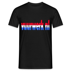 vuurwerk nl fan kleding - Mannen T-shirt