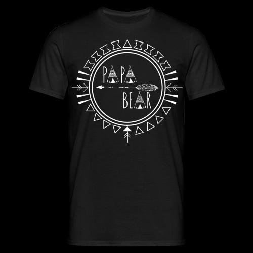 Papa Bear - Männer T-Shirt