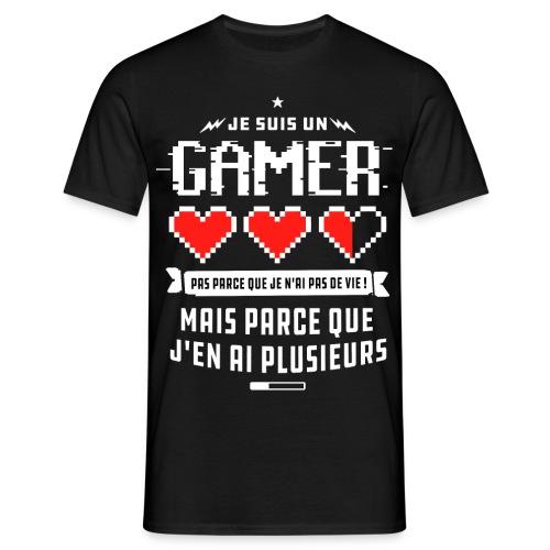 T-shirt Gamer - T-shirt Homme