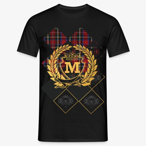 Check 1 Gold 10 1 - Mannen T-shirt