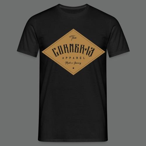 Patchwork Logo - Männer T-Shirt