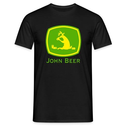 john beer-Funny Shirt - Männer T-Shirt