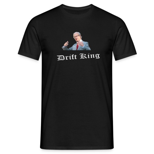 The drift king - T-shirt herr