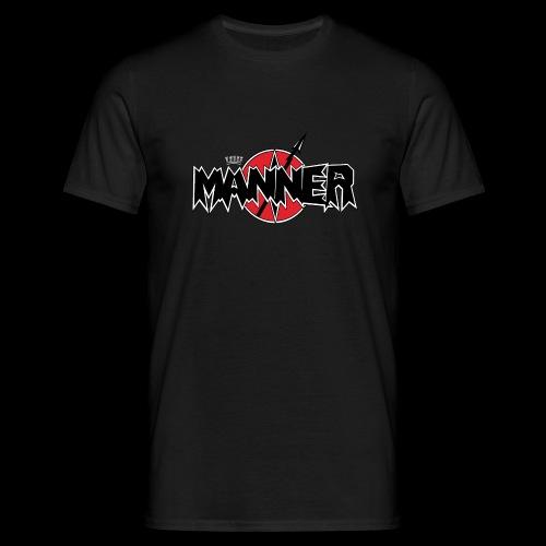 LogoKroneWeiss - Männer T-Shirt