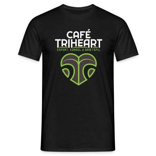 Triheart Logo - Herre-T-shirt