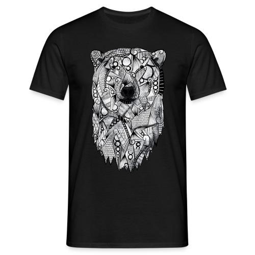 Isbjørn - T-skjorte for menn