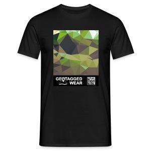 Camouflage Woodland II - Muskoka Collection 1708 - Männer T-Shirt