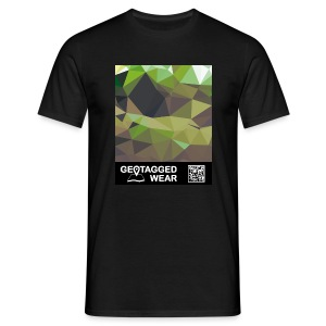 Camouflage Woodland II - Muskoka Collection 1708 - Männer T-Shirt