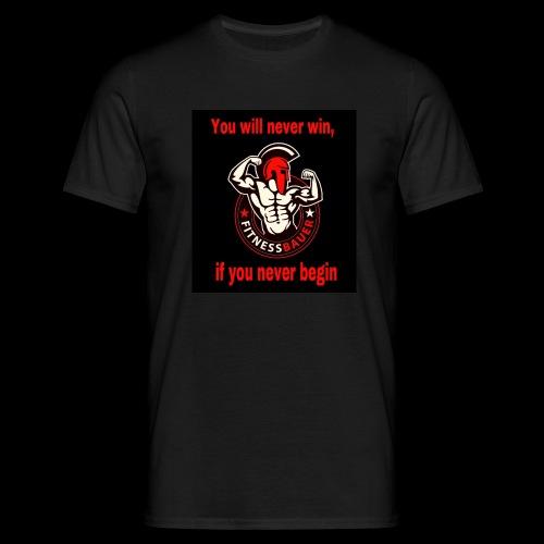 You will never win - Männer T-Shirt