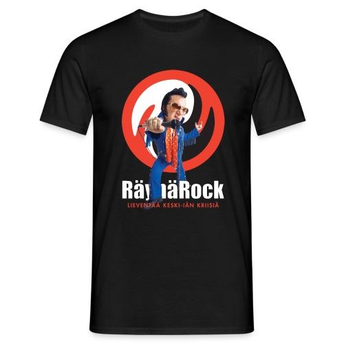 Räyhärock musta - Miesten t-paita