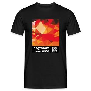 Camouflage Orange Blast – Muskoka Collection 1708 - Männer T-Shirt