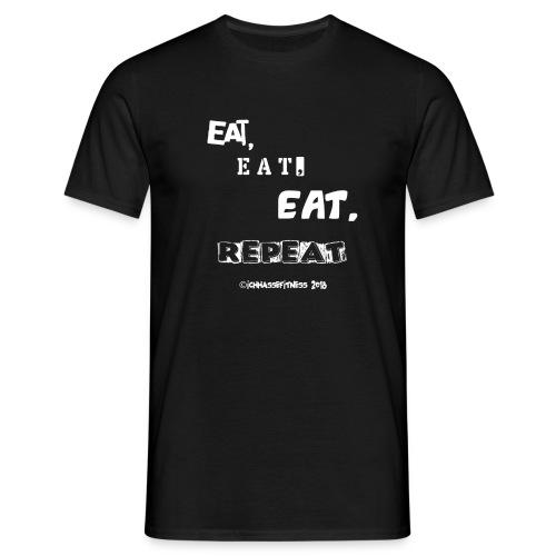 eateateatrepeat - Männer T-Shirt
