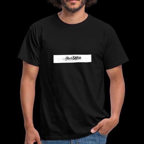 Black&white_Fashion - Männer T-Shirt