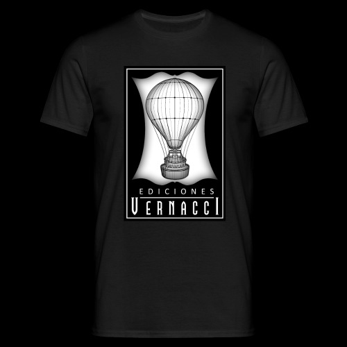 logotipo de ediciones Vernacci - Camiseta hombre