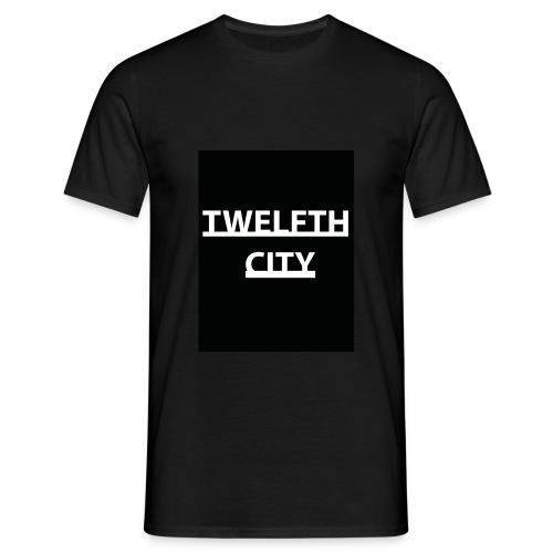 Twelfth City Black - Men's T-Shirt