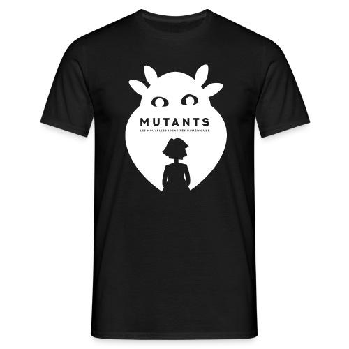 Mutant F blanc - T-shirt Homme