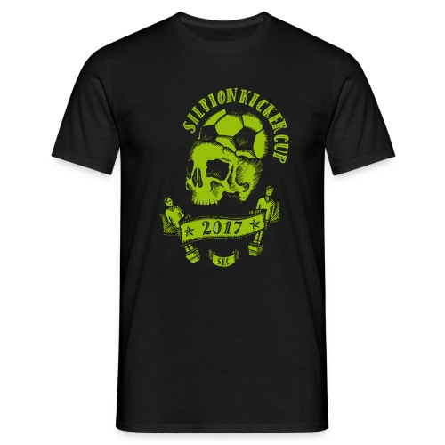 Logo Silpion Kicker Cup 2017 - Männer T-Shirt