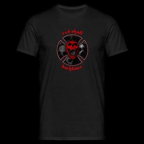 RedSkull Backliner logo trasparente - Maglietta da uomo