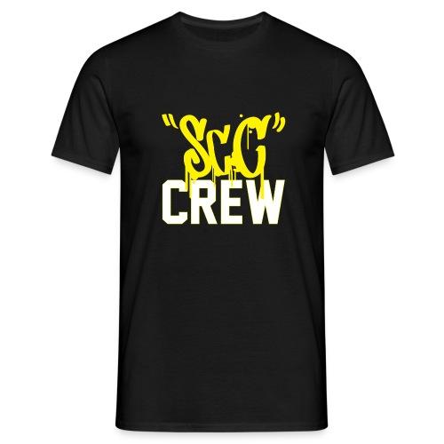 ScC CREW Logo Geel - Mannen T-shirt