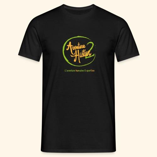 logo AventureHustive 2 - T-shirt Homme
