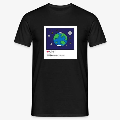 Insta Earth - T-shirt herr