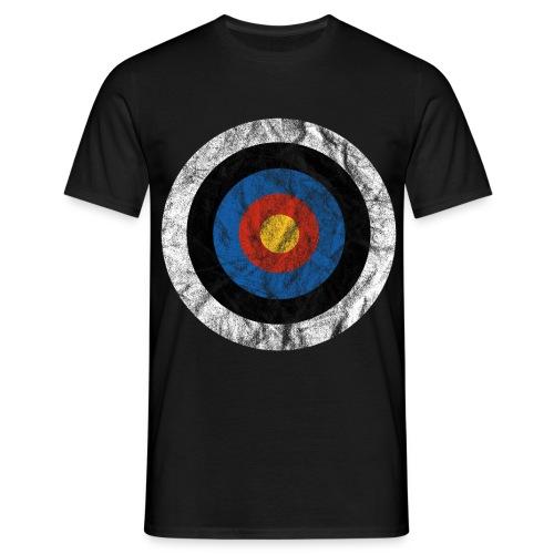 T-Shirt Bullseye Ziel Pfeil Bogen Archery Dart - Männer T-Shirt