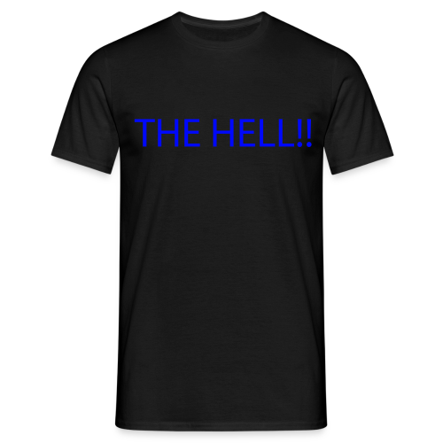 THE HELL!! - T-shirt herr