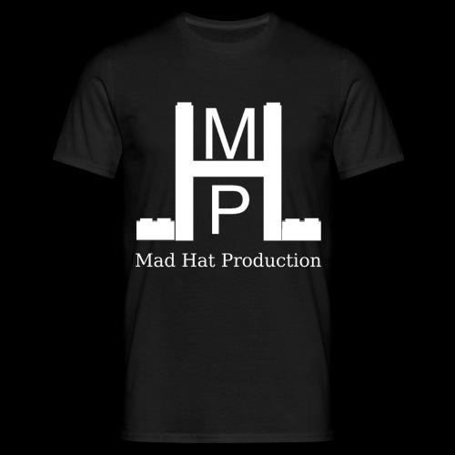 Mad Hat Logo | Weiß - Männer T-Shirt