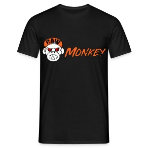 Raw Monkey Logo - T-shirt Homme