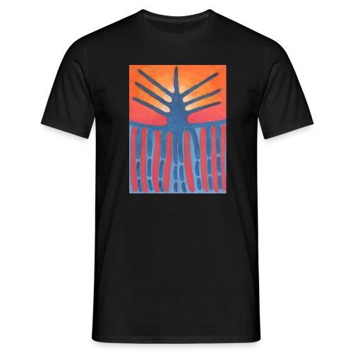 drzewo prehistoryczne 1 - Koszulka męska