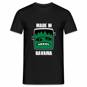 Fonster weiß made in Bavaria - Männer T-Shirt