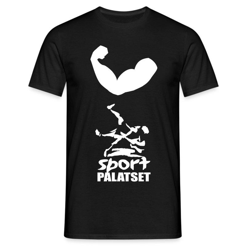 Judo foerslag 1 version 1 vit text - T-shirt herr
