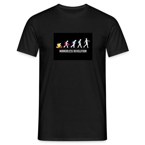 mirrorless evolution - Camiseta hombre