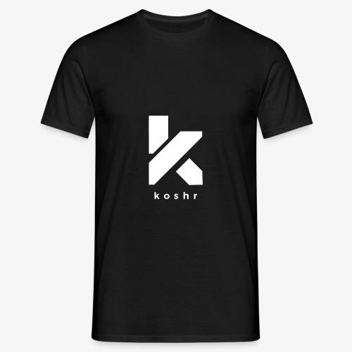 Koshr Official Logo - - Men's T-Shirt