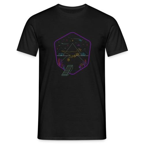 Demodern Design - The Digi Dino - Männer T-Shirt