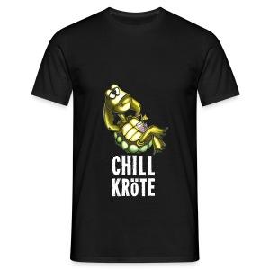 Chillkröte - Männer T-Shirt