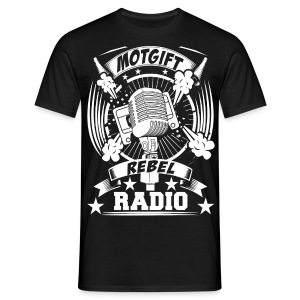 Motgift Rebel Radio - T-shirt herr