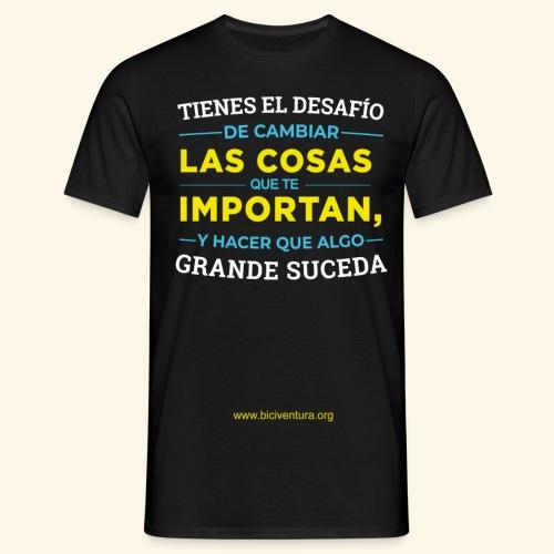 Cambia las cosas - Camiseta hombre
