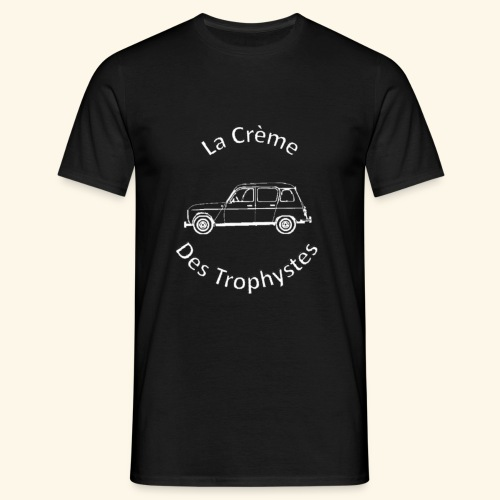 La Crème Des Trophystes - Modèle Berline Blanc - T-shirt Homme