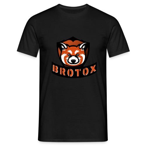 Brotox Transparent - Männer T-Shirt